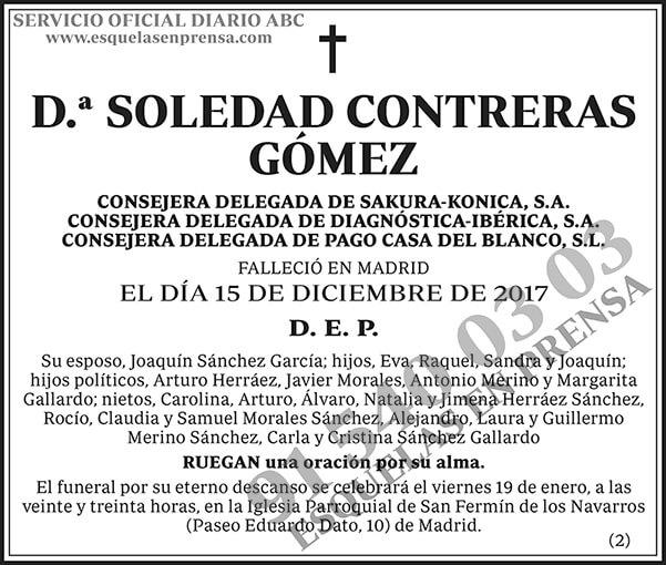 Soledad Contreras Gómez